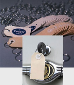 Petoskey Plastics Paper Key Tags with Metal Ring