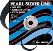"Pearl Silver Line 2"" x 60 Grit Shop Roll"