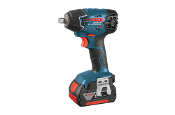 Bosch 18V Impact Wrench with Fat Packs
