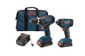 Bosch 18V  Kit -  Compact DD & ID with 2 SlimPack HC Batteries
