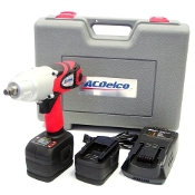 "ACDelco 18V 1/2"" Super-Torque Lithium Ion Impact Wrench Kit"